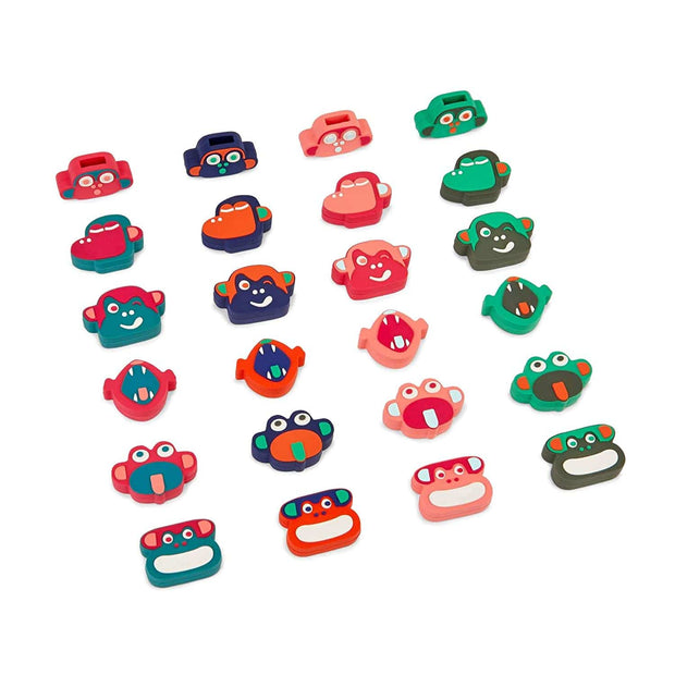 Kipling BTS Pullers Stickers - Mixed Colors - 16705-E62