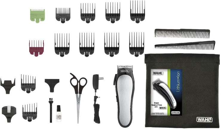 WAHL LITHIUM ION BATTERY HAIR CLIPPER 79600-3217