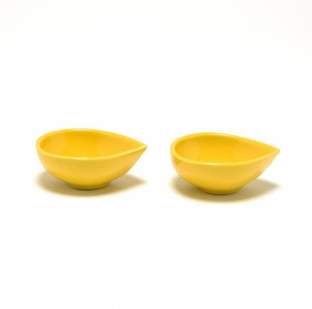 DANKOTUWA DIYAS BLOCK GLAZE 2PC YELLOW - DYSGLZ-YLW
