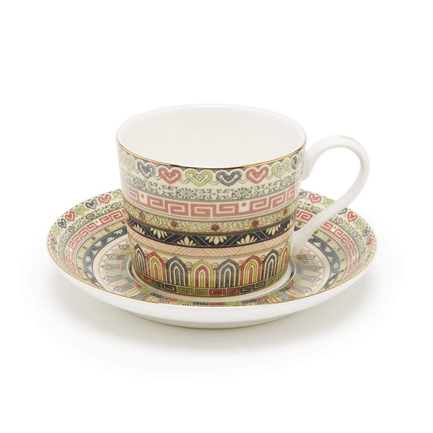 PURDIE BROWN 12PC COFFEE CUP & SAUCER - S18183D-GNPCNS057