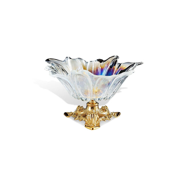 VERONA CLEAR GLASS BOWL - DC6141/OR