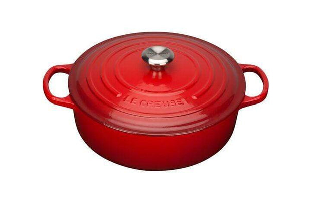 LE CREUSET RISOTTO POT 30CM CHERRY RED - 21179300602430