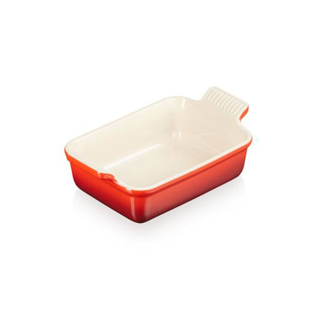 LE CREUSET GRATIN RECTANGULAR BAKING DISH 24X19CM CHERRY RED - 71102190600001