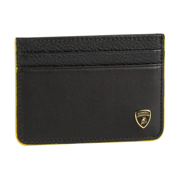 LAMBORGHINI MAN WALLET GARAGE 9013489 BLACK