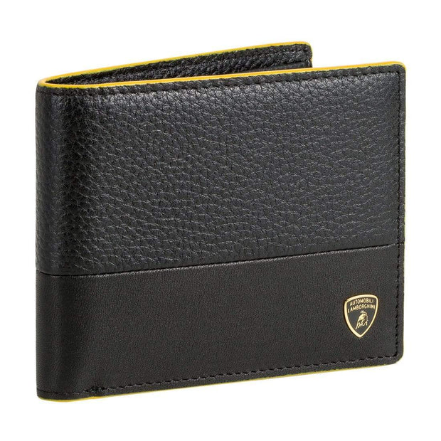 LAMBORGHINI MAN WALLET GARAGE 9013491 BLACK