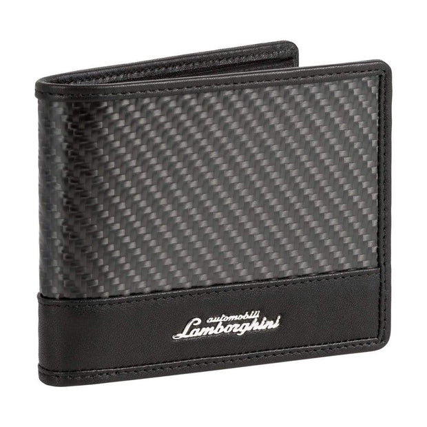 LAMBORGHINI MAN WALLET TECHNO 9013504 BLACK