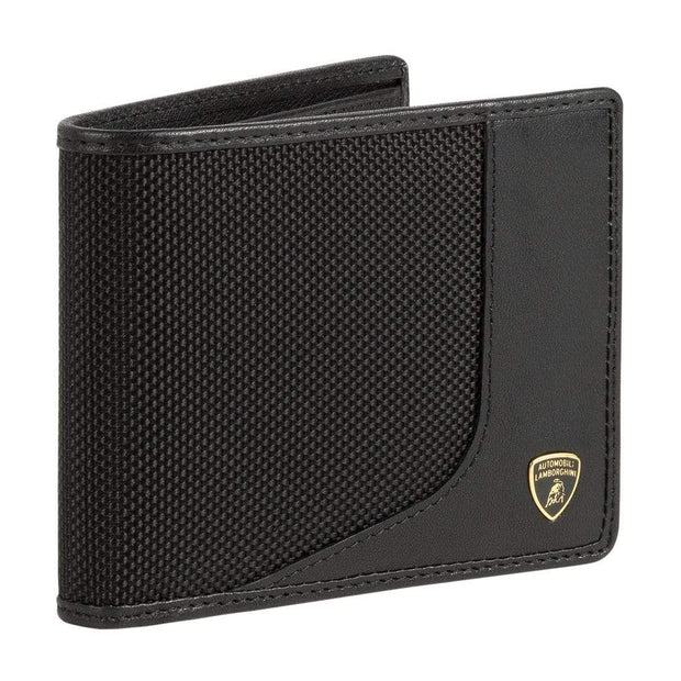 LAMBORGHINI MAN WALLET WIRED 9013483 BLACK