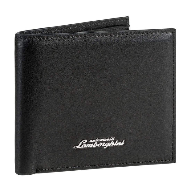 LAMBORGHINI MAN WALLET PERFORMANCE 9013525 BLACK
