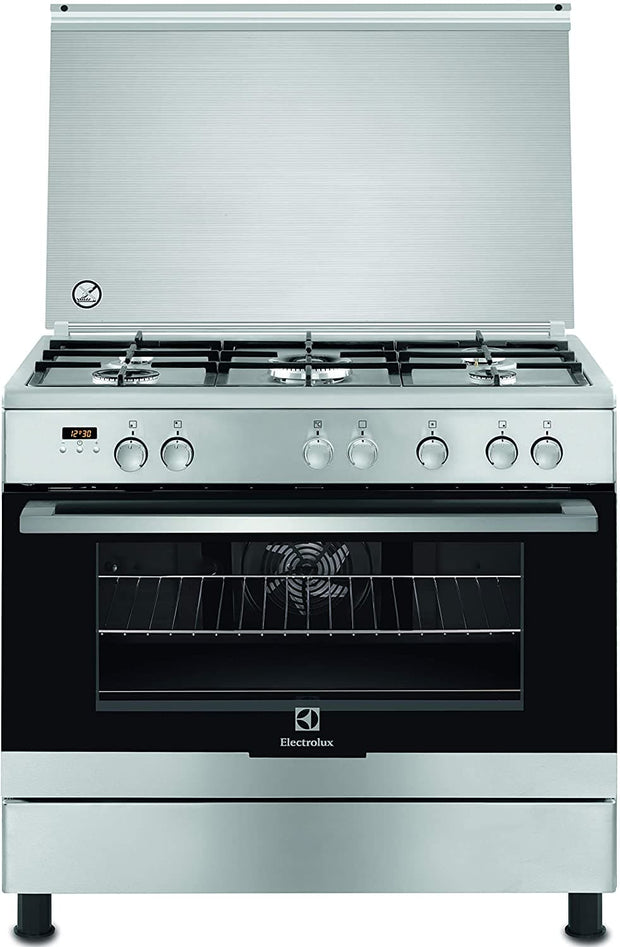 Electrolux Elux 90x60 MF Oven, turnspit, Catalytic Cavity, Cooling Fan, S.Steel-EKK925A0OX