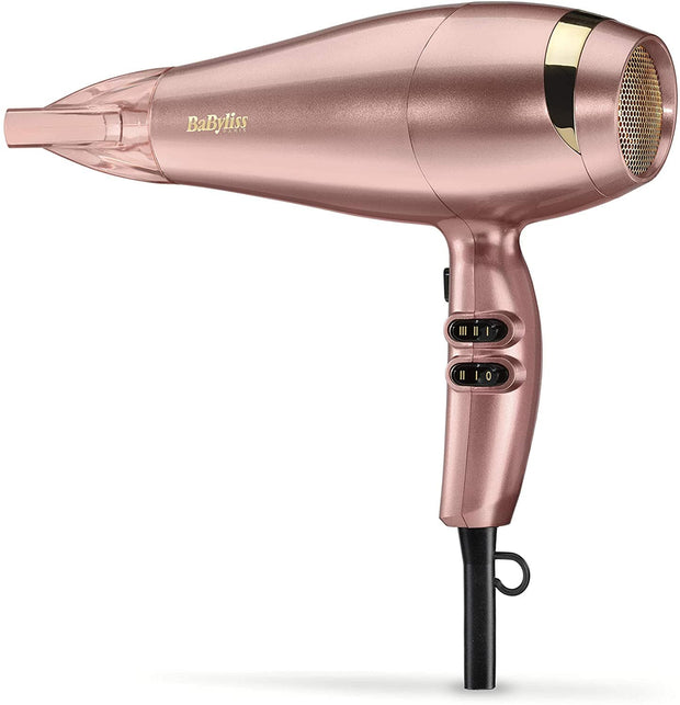 BaByliss Elegance Rose Gold Hair Dryer- BAB5336PSDE - Jashanmal Home