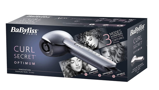 BaByliss Paris Auto Curl Secret Optimum Ionic Ceramic Hair Curling Tong C1600SDE