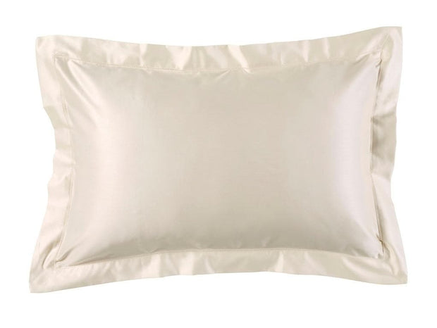 Christy 900 TC Picot Oxford Pillowcase Singles Cream-41020040