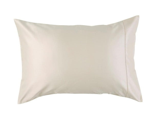 Christy 900 TC Picot King Pillowcase Singles Cream-41020026