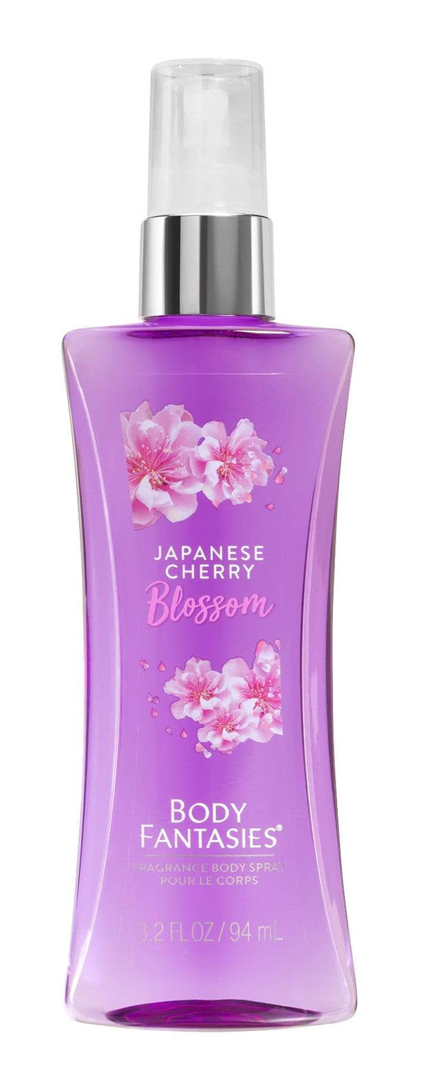 BODY FANTASIES Signature Japanese Cherry Blossom BODY SPRAY 94ml3077 - Jashanmal Home