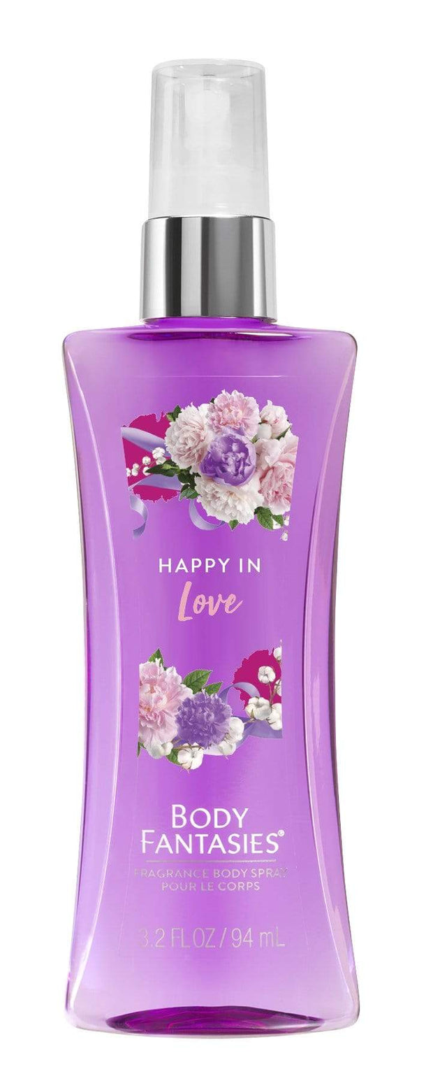 BODY FANTASIES Signature HAPPY IN LOVE FANTASY Body Spray 94mlA044TIF - Jashanmal Home