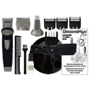 WAHL GROOMSMAN BODY - RECHARGEABLE CORD/CORDLESS BEARD TRIMMER 9953-1027