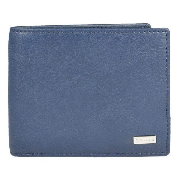 Cross Insignia Men's Slim Wallet Navy - AC1268121-2-5