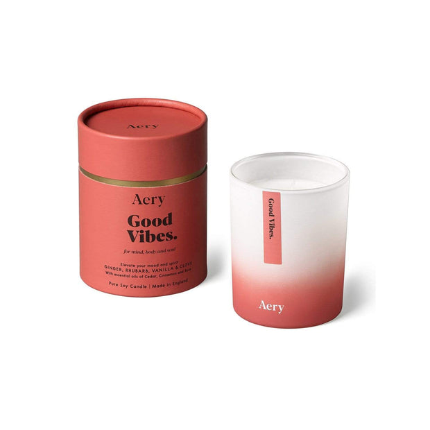 AROMATHERAPY GOOD VIBES 200G CANDLE