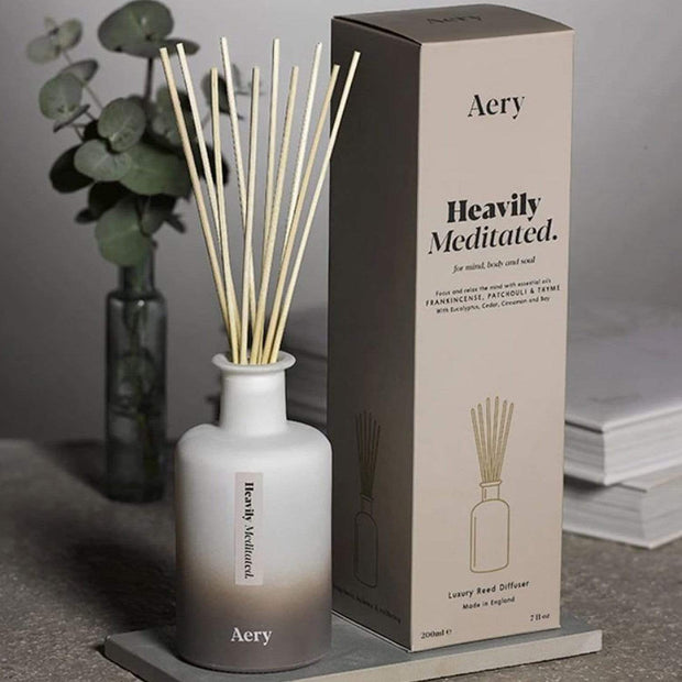 AROMATHERAPY HEAVILY MEDITATED 200ML DIFFUSER