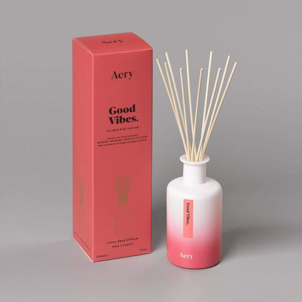AROMATHERAPY GOOD VIBES 200ML DIFFUSER