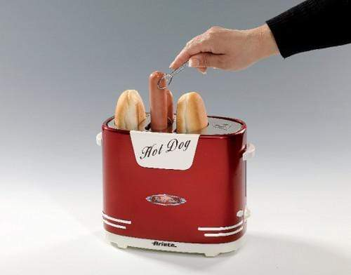 ARIETE PARTY TIME HOT DOG MAKER RED 0186