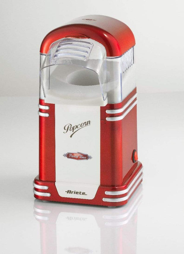 ARIETE PARTY TIME POP CORN MAKER, WHITE/ RED, 2954