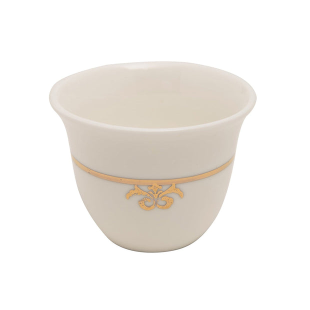 12PC CAWA CUPS BC LILY RICH GOLD - KK068G