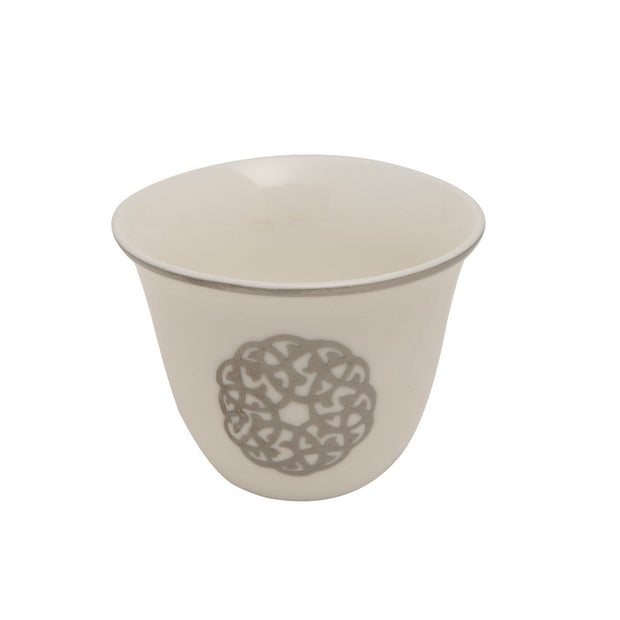 PLATINUM LINE 12PC ARABIC CAWA CUPS - SY116
