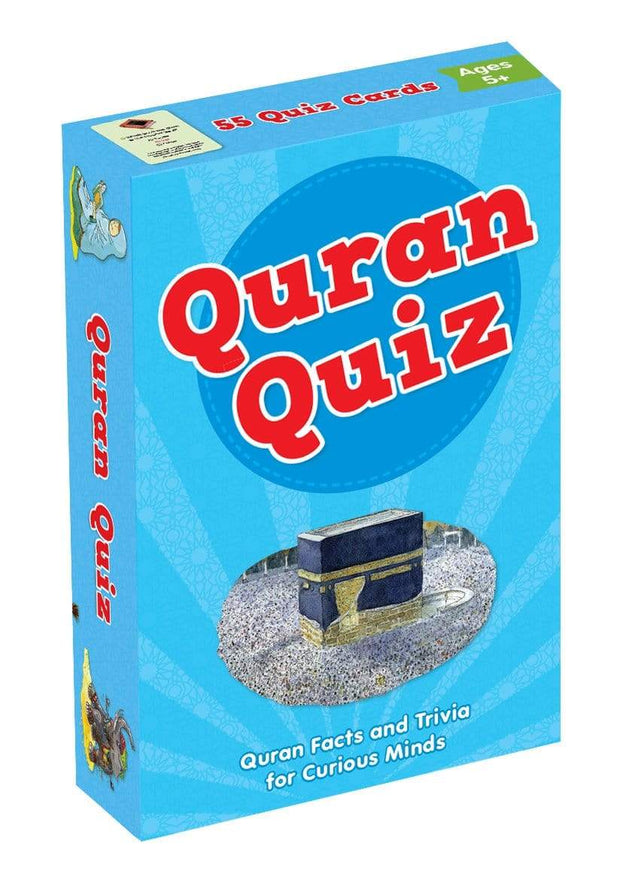 BOOKS QURAN QUIZ-Islamic Games and puzzle