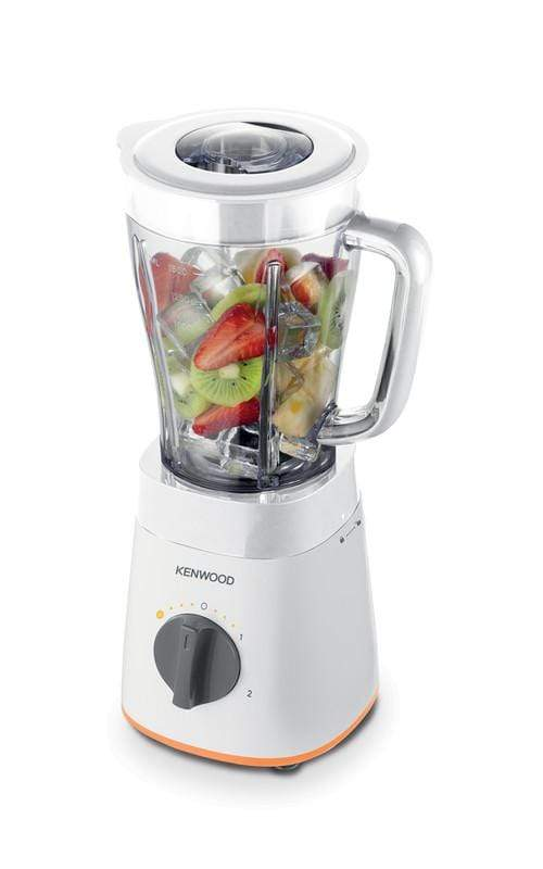 KENWOOD 500W BLENDER WITH 2 MILL WHITE, BLP15.360WH