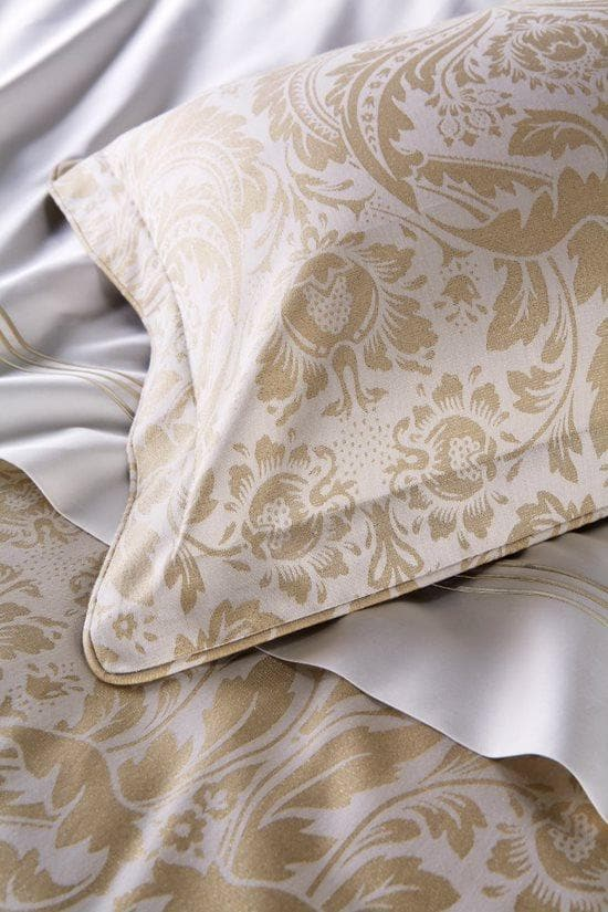 Christy Blenhiem Oxford Pillowcase (Single) Gold-41018047