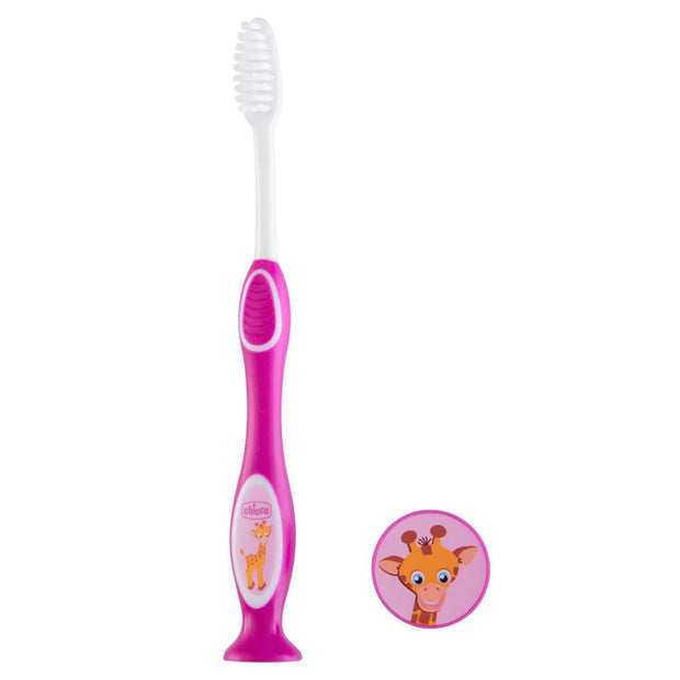 Chicco-Milk-Teeth-Toothbrush-for-3-to-6-Years-Kids-Pink-CH090791