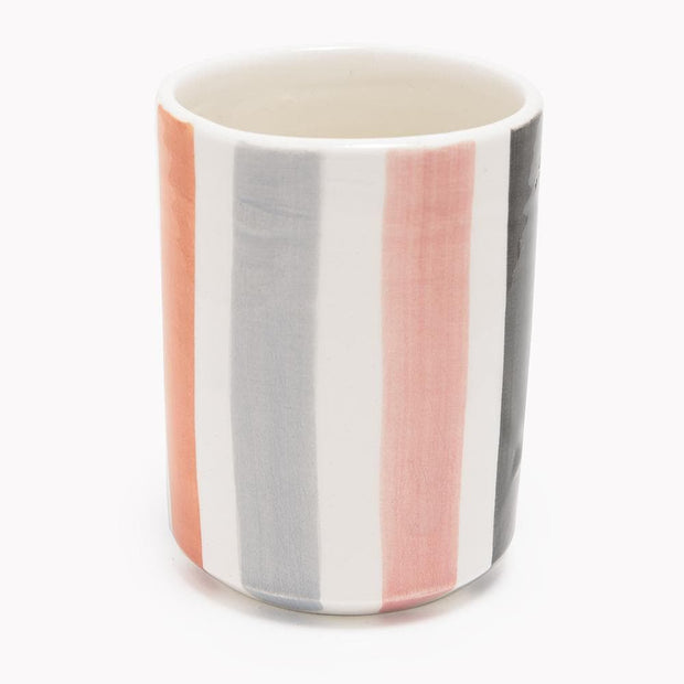 Chabichic Right Ourika Ceramic Coffee Cup - Multicolour - CCV.28.03ORGR - Jashanmal Home