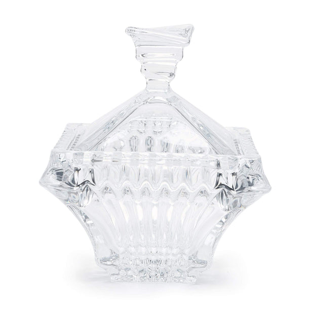 BOHEMIA CRYSTAL PRAGUE BIG BOX 19.3CM