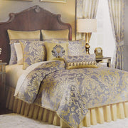 Croscill Nadia King Bedding Set - Light Grey, 8 Pieces - 2A0-804O0-9015/054 - Jashanmal Home
