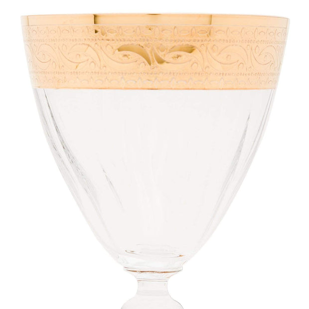 Combi Catriona Goblet Set - Gold, 250 ml, Large, 6 Piece - G569Z/CAS250 - Jashanmal Home