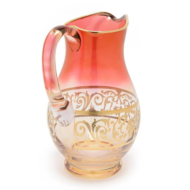 Combi Clarice Jug - Red and Amber, 38 c - G597Z-RED&AM/38C - Jashanmal Home