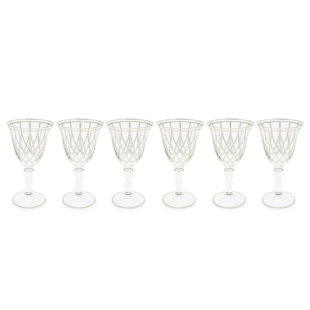 Combi Elaine Small Goblet Set - Platinum, 190 ml - G797P/97 - Jashanmal Home