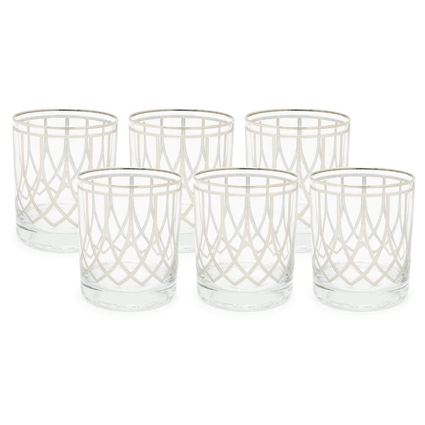 Combi Elaine Short Tumbler Set - Platinum, 260 ml - G797P/27/1 - Jashanmal Home