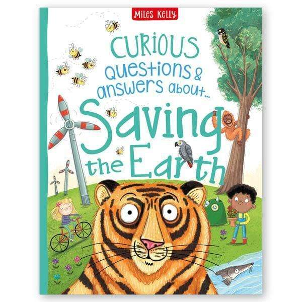 CURIOUS Q&A ABOUT SAVING THE EARTH