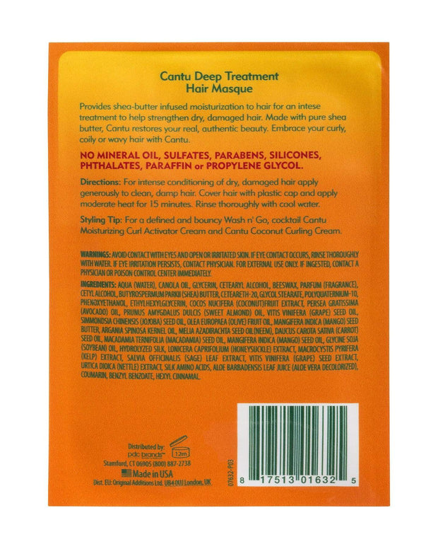 CANTU NATURAL HAIR DEEP TREATMENT HAIR MASQUE 50 G - 07632-24/6EU
