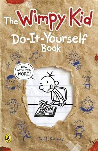 Diary of a Wimpy Kid: Do-It-Yourself Book - Jashanmal Home