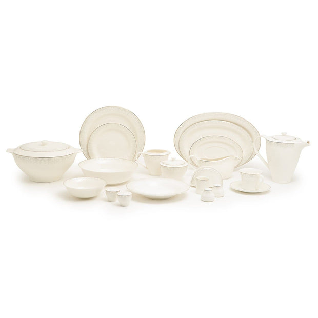 Dimlaj Goldishr 02 Bp Dinner Set - 92 Pieces - 7352