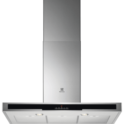 Electrolux 90cm Chimney Hood, Steel - EFT719X (Made In ITALY)