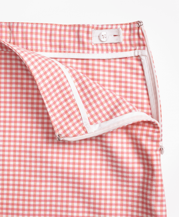 BROOKS BROTHERS SKT MIXED MEDIA CHECK PINKORGCHK GIRLS - 100075118