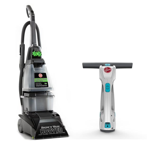 BRUSH N WASH CARPET CLEANER WITH FREE WINDOW VACUUM CLEANER WORTH AED 299 - Jashanmal Home