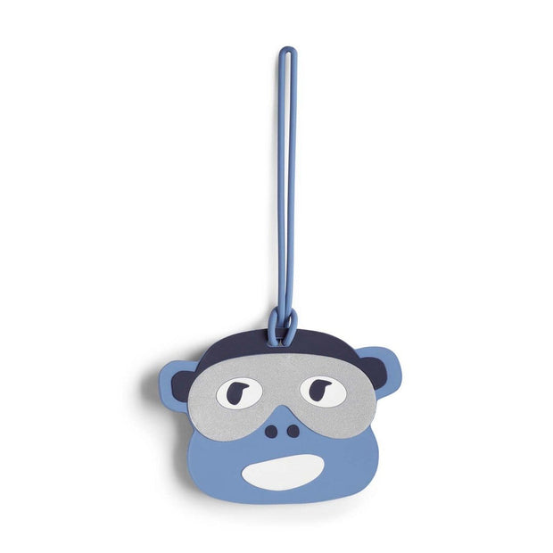 Kipling Monkey Fun Luggage Tag - Polish Blue - 00117-83D