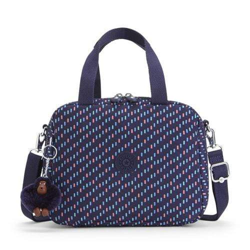 Kipling Miyo Bag with Trolley Strap - Blue Dash - 15381-28T