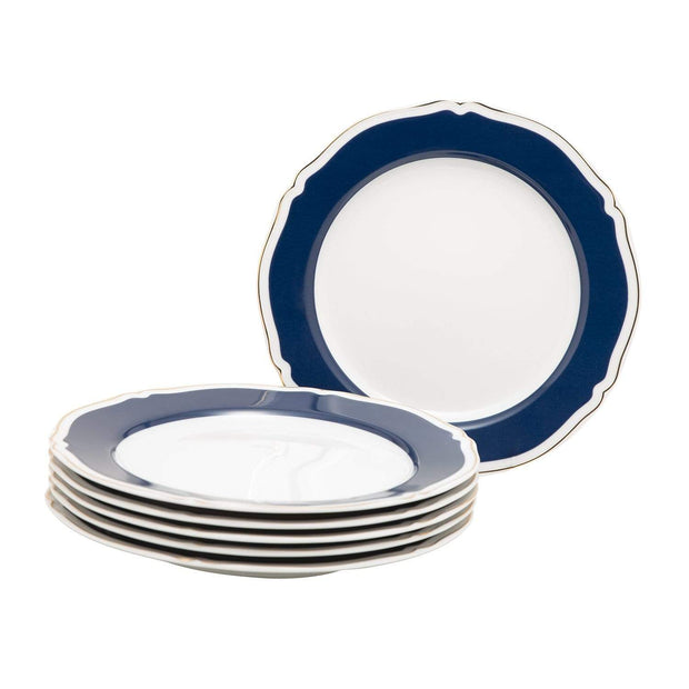 LEAVE ME 1 GOLDLINE 6PC SET DINNER PLATE 27CM