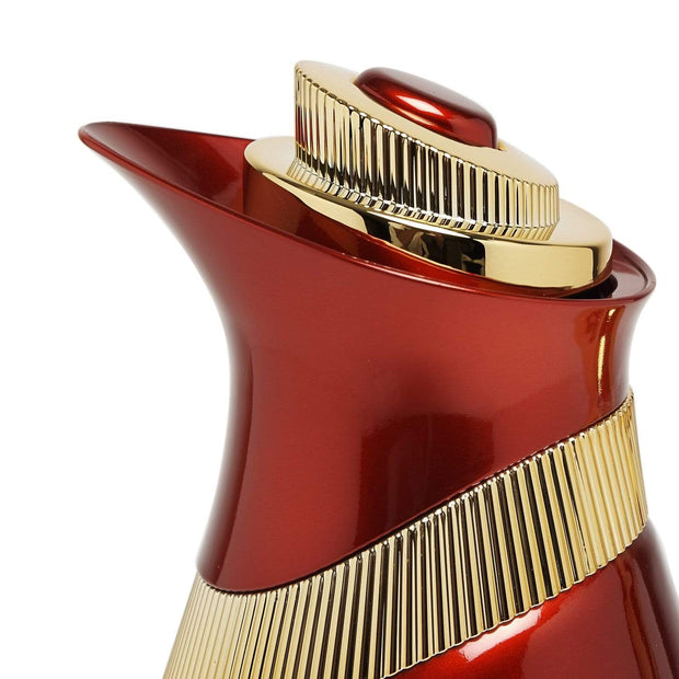 KENWELL 1.0L VACUUM FLASK RED GOLD - VM-1008EG-RED